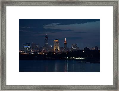Cleveland Reflections Framed Print