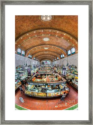 Cleveland West Side Market I Framed Print