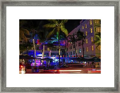 Clevelander South Beach Framed Print