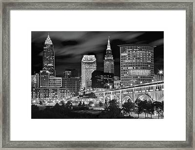 Charcoal Night  Framed Print by Frozen in Time Fine Art Photography