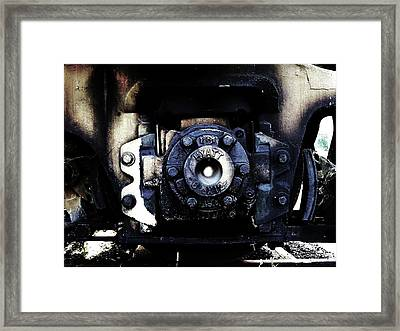 Framed Print featuring the photograph Clide by Cyryn Fyrcyd