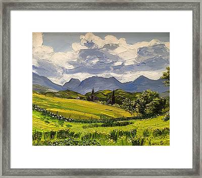 Clifden Landscape Ireland Framed Print
