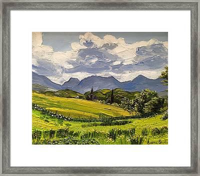 Clifden Landscape Ireland Framed Print