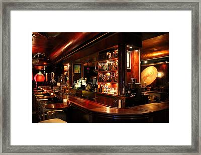 Cliff Bell's Jazz Club In Detroit Michigan Framed Print by Anita Hiltz