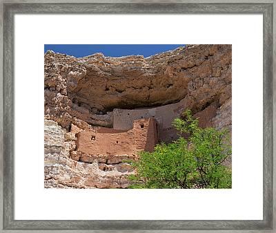 Cliff Dwellings Framed Print