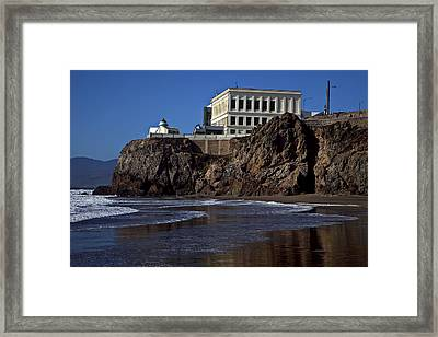 Cliff House San Francisco Framed Print by Garry Gay