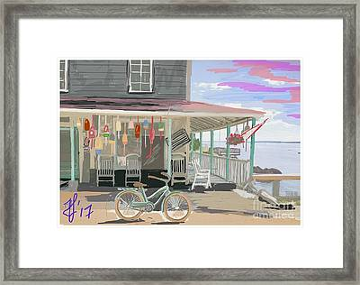 Cliff Island Store 2017 Framed Print