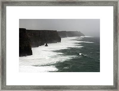 Cliff Of Moher Framed Print