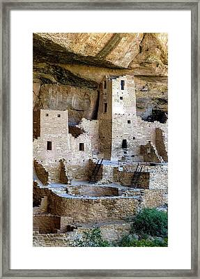Cliff Palace Mesa Verde Framed Print