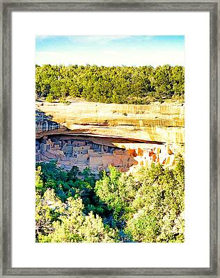 Cliff Palace Study 1 Framed Print
