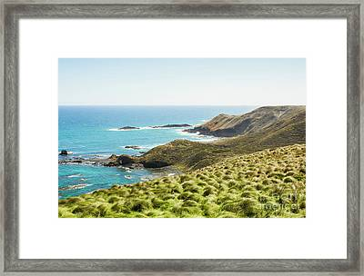 Cliffs And Capes Framed Print