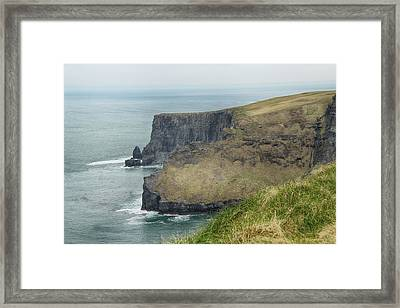 Cliffs Of Moher 1 Framed Print by Marie Leslie