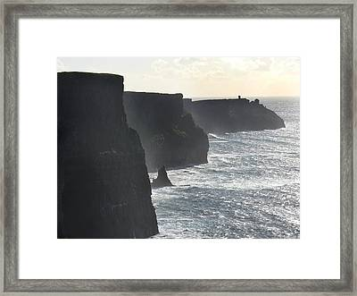 Cliffs Of Moher 1 Framed Print by Mike McGlothlen