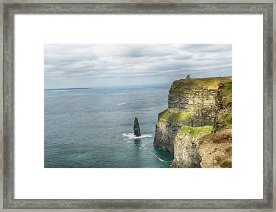 Cliffs Of Moher 3 Framed Print by Marie Leslie