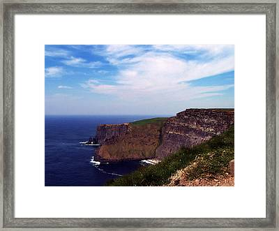 Cliffs Of Moher Aill Na Searrach Ireland Framed Print