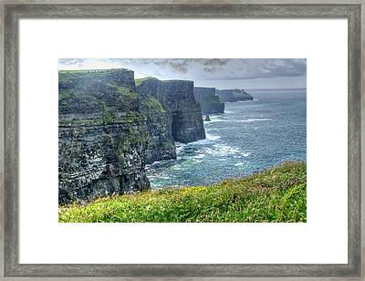 Framed Print featuring the photograph Cliffs Of Moher by Alan Toepfer