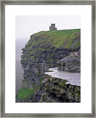 Cliffs Of Moher Ireland Framed Print by Charles Harden