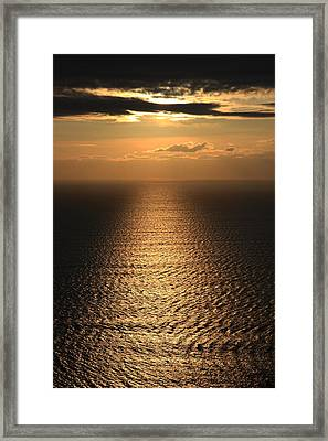 Cliffs Of Moher Sunset Co. Clare Ireland Framed Print by Pierre Leclerc Photography