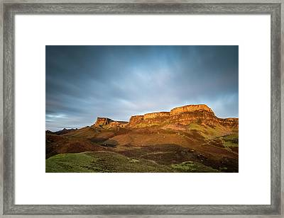Cliffs Of Trotternish Framed Print