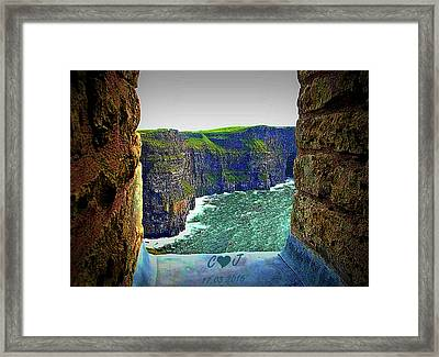 Cliffs Personalized Framed Print