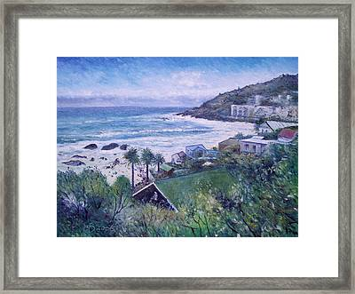Clifton Beach  Cape Town South Africa 2006  Framed Print by Enver Larney