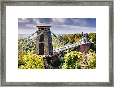 Clifton Suspension Bridge Framed Print