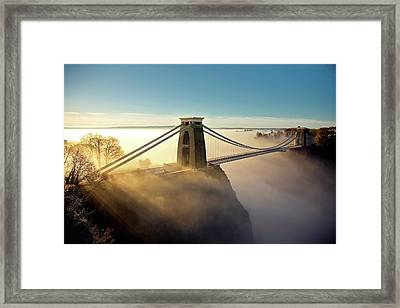 Clifton Suspension Bridge Framed Print by Paul C Stokes