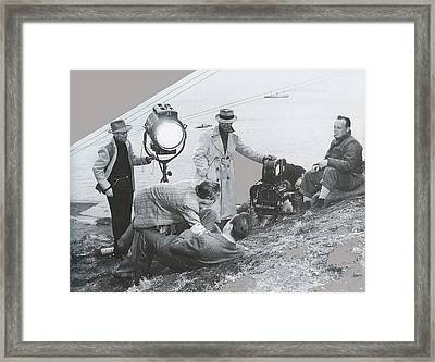 Clifton Young And Bogie Fight To The Death Dark Passage 1947-2016 Framed Print