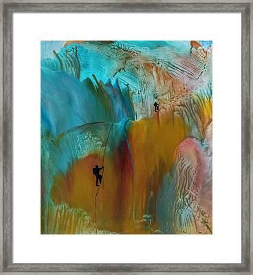 Climbers Framed Print