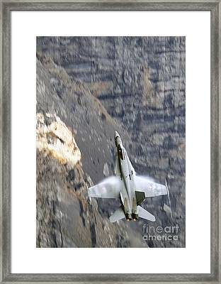 Climbing Up Framed Print by Angel  Tarantella