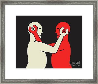Clinch Framed Print by Igor Kislev