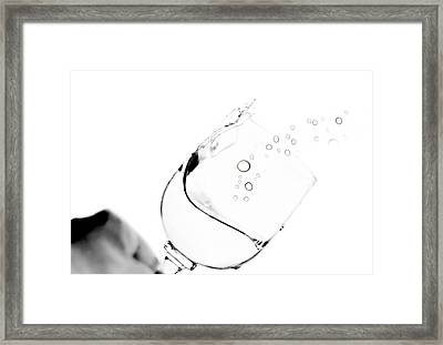 Clink Framed Print by Diana Angstadt