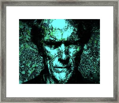 Clint Eastwood 2b Framed Print