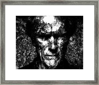Clint Eastwood 2c Framed Print