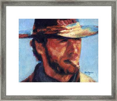 Clint Eastwood - High Plains Drifter Framed Print