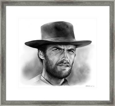 Clint Framed Print
