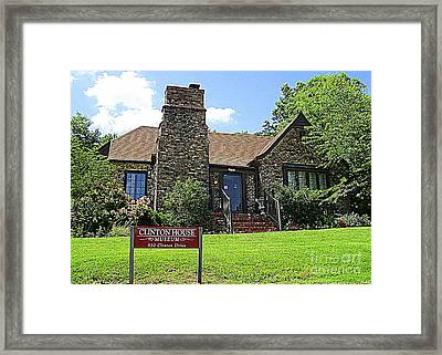 Clinton House Museum 1 Framed Print