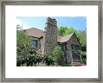 Clinton House Museum 3 Framed Print