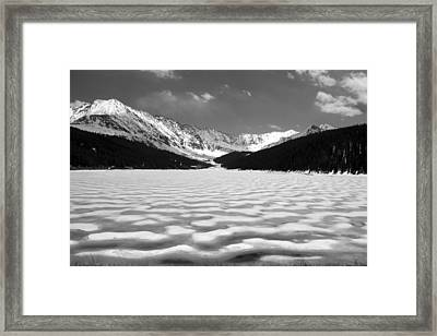 Clinton Lake Framed Print