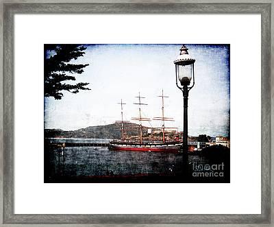 Clipper Ship Framed Print