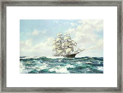 Clipper Shun Lee Framed Print