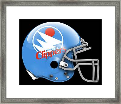 Clippers What If Its Football Framed Print