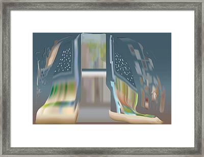 Cloak City Framed Print