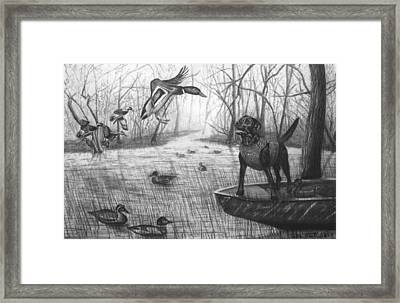 Cloaked Framed Print by Peter Piatt