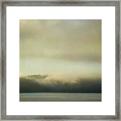 Framed Print featuring the photograph Cloaked by Sally Banfill