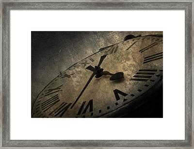 Clock Framed Print by Svetlana Sewell