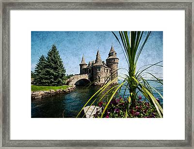 Boldt Castle Power House And Clock Tower Framed Print