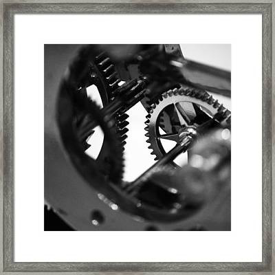Clock Work - 2 Of 2 Framed Print by Alan Todd