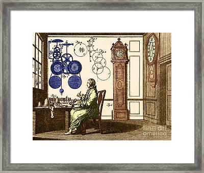 Clockmaker Framed Print