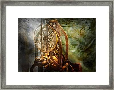 Clockmaker - The Day Time Stood Still  Framed Print